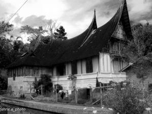 Rumah Gadang di Luhak Agam