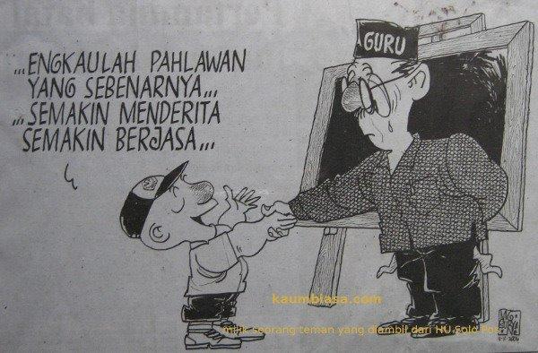 Pahlawan Tanpa Tanda Jasa?