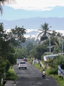 Suasana pagi pada hari Senin tgl 24 desember 2012. Lokasi berada pada salah satu negeri di Luhak Tanah Data.Foto: Koleksi Pribadi