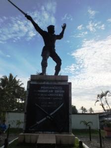 Monumen Pend. Divisi X Banteng