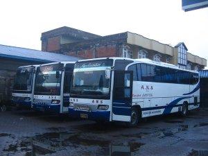 Perusahaan Bus ANS merupakan perusahaan bus ternama yang melayani pengangkutan penumpang dari Bukittinggi ke Padang. Dahulu yang dipakai ialah bus besar ini. Namun semenjak pertengahan tahun 2000-an ANS mengganti armadanya dengan bus yang lebih kecil.
