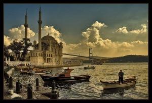Salah satu sudut Istanbul, Turki Usmani Ilustrasi Gambar: Internet