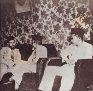 Kanan: M. Rasjidi, Haji Agus Salim, & Hasan Al Bana.
