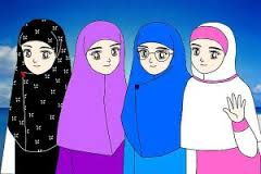Menutup Aurat Sesungguhnya Telah Menjadi Budaya Perempuan Minangkabau. Gambar: Internet