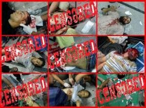 Sedikit dari Korban Pembantaian terhadap para Demonstran Presiden Pro Mursi.