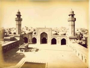 Masjid Wazir Khan Pakistan. Gambar: http://islamic-arts.org/