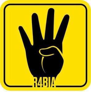 Empat, perlambang dari Revolusi Ikhwan di Mesir. Dicetuskan oleh PM. Erdogan dari Turki.