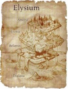 Gambaran Elysim menurut Mitologi Yunani