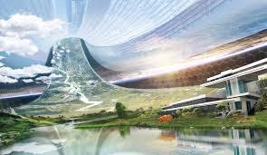 Pemandangan dari dalam Stasiun Elysium Gambar: Internet